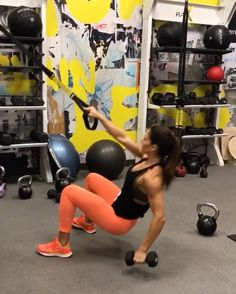 """TRX upper arm workout 10 reps each side. 12 reps each side 15 reps 15 reps each side 15 reps each…"" Cardio, Hiit, Clarks, Suspension Workout, Suspension Trainer, Trx Training, Interval Training, Strength Training, Alexia Clark"