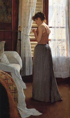 Woman by Santiago Rusiñol (1861, Barcelona)