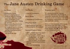 Jane Austen Needs A Drink(ing Game) - Crushable