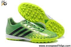 uk availability 0dcf4 e3932 Cheap 2013 adidas Predator TF Grass Green Black Adidas Soccer Shoes,  Football Shoes, Adidas
