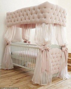 Omg that would be my daughter's crib! Very classy