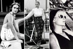Grace Kelly et la mode http://www.vogue.fr/mode/inspirations/diaporama/grace-kelly-et-la-mode/15934/image/875966#!l-039-allure-estivale