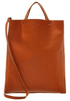 GABRIELLA - Shopping bag - cognac brown