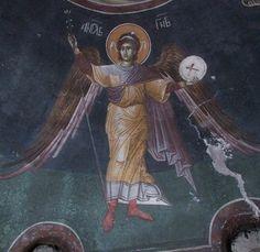 Religious Images, Religious Icons, Religious Art, Byzantine Icons, Byzantine Art, Order Of Angels, Orthodox Icons, Angel Art, Sacred Art