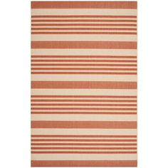 Safavieh Courtyard Terracotta/Beige 8 ft. x 11 ft. Area Rug-CY6062-241-8 at The Home Depot