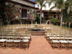 WEDDING RENTAL CHIAVARI CHAIRS IN HUMMINGBIRD RANCH CA