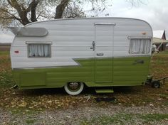 Our vintage 1961 Shasta Travel Trailer :)