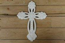 Find Crosses at Indelible Metal Crosses, Crochet Necklace, Cast Iron