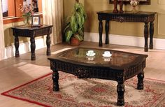 Living Room End Tables Ajax Coffee And End Table Living Room Furniture Set   Xiorex