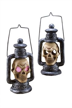 This Is One Lightweight Foam Lantern With A Creepy Skull. Strobe Light Located Inside Skull, Flickers Through Eyes When Activated. Skull Lantern Requires 2 Aa Batteries, Not Included. Lantern Measures 14 Inches X 8 Inches X 5 Inches, With 9 Inch Wire For Light Up Halloween Costumes, Halloween Wishes, Halloween Skull, Halloween Party Decor, Halloween Kids, Horror Party, Lanterns Decor, Outdoor Decorations, Fun World