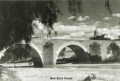 Puente grande de rio en San Juan de los Lagos Jalisco M;exico