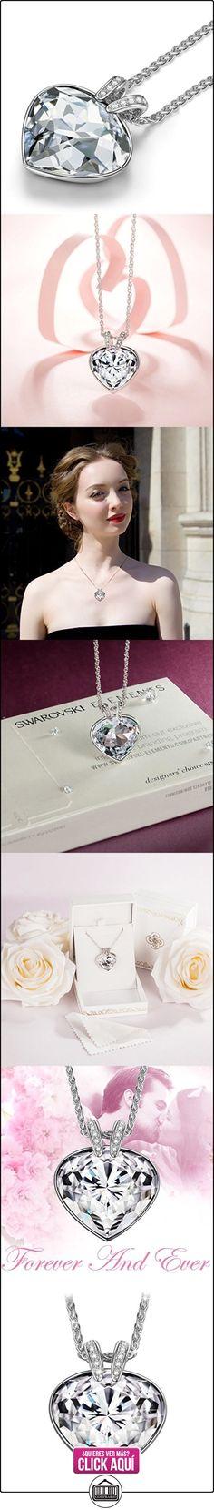 P&M-Océano Corazón-Collar Mujer Joyería con cristales Swarovski  ✿ Joyas para mujer - Las mejores ofertas ✿ ▬► Ver oferta: https://comprar.io/goto/B0181RKIHS