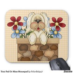 Your Pad Or Mine Mousepad