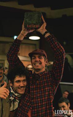 "Winner of the ""Hellcat"" Lille  #Hellcat #Alleycat #Lille #Fixie #fixedgear #bike #fixed #messengers #France #north #nord #Leopolismagazine #LPM"