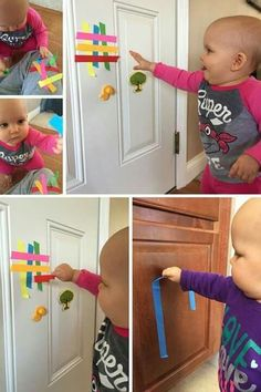 , - Baby Development Tips Baby Sensory Play, Baby Play, Toddler Play, Toddler Learning, Infant Play, Montessori Activities, Infant Activities, Activities For 1 Year Olds, Family Activities