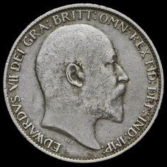 1904 Edward VII Silver Sixpence – Rare – AVF / VF