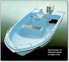 Chrysler Marine: a full history of the highly successful, innovative Chrysler boats division, makers of power boats and sailboats Cool Boats, Small Boats, Speed Boats, Power Boats, Sport Yacht, Runabout Boat, Vintage Boats, Diy Boat, Boat Building Plans