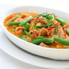 Thai Chicken Curry Recipe - Making this tonight with kale instead of green beans