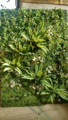 Vertical Garden Plants, Vertical Garden Design, Tropical Landscaping, Backyard Landscaping, Apartment Herb Gardens, Vertikal Garden, Garden Wall Designs, House Plants Decor, Garden Trees