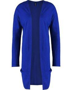 Smash ALPENS Strickjacke blue Online Shops, Tunic Tops, Blouse, Long Sleeve, Sleeves, Women, Fashion, Cheap Fashion, Online Shopping