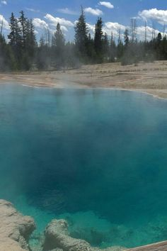 West Thumb Geyser Basin, Yellowstone National Park, Wyoming. Photo by Jeannine Mantooth