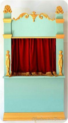How to Make a Puppet Theatre for Children: DIY Tutorial