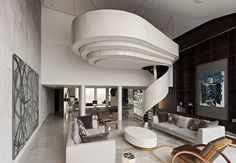 WAN INTERIORS:: Riverside Apartment, London. by Foster Lomas in London, United Kingdom