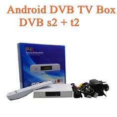 70.00$  Watch now - http://alimli.worldwells.pw/go.php?t=32706851118 - 4k Quad- core tv box Android TV Box DVB s2 + t2 OTT+DVB SMART BOX Android TV Box DVB s2 70.00$