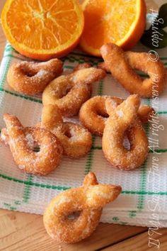 Best Italian Recipes, Sicilian Recipes, Italian Desserts, Favorite Recipes, Bakery Recipes, Sweets Recipes, Cooking Recipes, Zeppoli Recipe, Italian Cookies