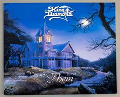 "Album Front cover Photo of KING DIAMOND THEM http://www.vinylrecords.ch  This album ""KING DIAMOND THEM"" is s the third album recorded by the Danish Heavy Metal / Thrash Metal singer: ""King Diamond"" (ex Mercyful Fate)"