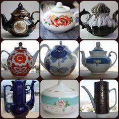 TeaPot Coffee Pot Porcelain German Russian USSR Soviet Riga Lomonosov LFZ Rare #Unbranded