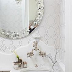 Studded Wallpaper - Design, decor, photos, pictures, ideas, inspiration, paint colors and remodel
