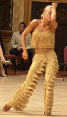 Fav dance video EVER -Yulia's AMAZING samba... and I SO LOVE THOSE FRINGE PANTS!!!!!