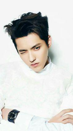 Kris, why do that face Korean Boy, Exo Korean, Kris Wu, Chanyeol, Rapper, Wu Yi Fan, Kim Minseok, Kpop, Yixing