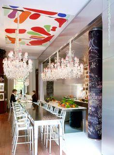 La Cuisine - The french restaurant of Le Royal Monceau, Paris Crédits Photo : Philippe Garcia/LaSociétéAnonyme