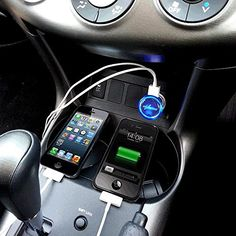 Dual USB Car Charger 5V 2.1Amps - Real Capacity - Satisfaction Guaranteed to Charge Apple iPhone and all brand Smartphones Very Well