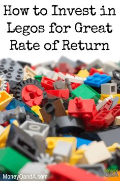 When you're a kid, Legos are the best toy ever. They give you hours of entertainment. But how do adults get in on this fun? Can adults invest in Legos? And, should you invest in buying Lego sets to resell later?