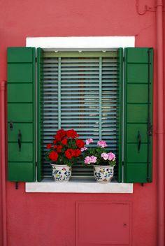 Front Window - Burano, Italy