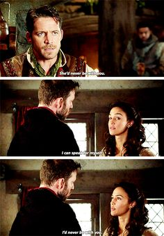 """#OnceUponATime 4x18 """"Heart of Gold"""" - Robin, Marian and Nothingam Sheriff"""