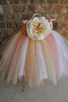 First Birthday Dress : pink