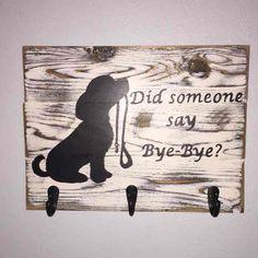 Distressed Dog Leash / Key Holder Sign - Mercari: Anyone can buy & sell
