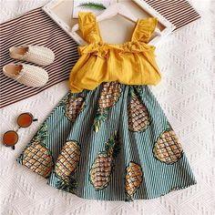 The basket Baby – Basket Baby Girls Summer Outfits, Little Girl Outfits, Cute Girl Outfits, Toddler Girl Outfits, Toddler Fashion, Summer Girls, Toddler Girls, Toddler Summer Clothes, Cute Clothes For Kids