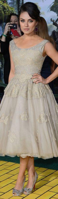 Mila Kunis dress #lovely #chic #dress