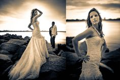 My sister's trash the dress photo shoot :) by DVM Photography