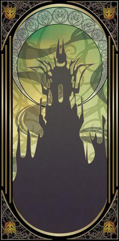 Transformers Tarot cards: The Tower by Chibininja1917 on DeviantArt