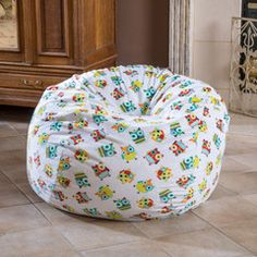 Ashley 3Ft Yellow Polka Dot Fabric Bean Bag Chair | Bean Bags | Pinterest | Bean  Bags