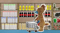 Een vrolijk liedje uit HoelaHoep over boodschappen doen. Ga je mee? Dutch Language, Preschool Themes, Dinosaur Stuffed Animal, Kindergarten, Restaurant, Kids Rugs, Teaching, Projects, Convenience Store