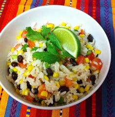 Eat Yourself Skinny!: Fiesta Lime Rice