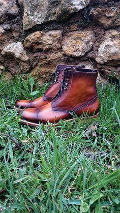 Andres Sendra - Boots - http://www.andres-sendra.com/es/piel-natural.html
