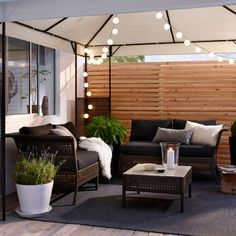 Ikea Outdoor Furniture Kungsholmen Catalog 27 New Ideas Ikea Outdoor, Outdoor Rooms, Outdoor Furniture Sets, Outdoor Decor, Lounge Furniture, Black Rattan Garden Furniture, Ikea Patio Furniture, Balcony Furniture, Furniture Dolly